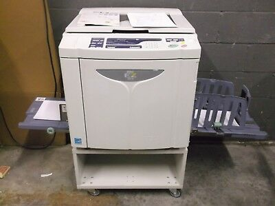 NEW Riso EZ221 High Speed Digital Duplicator NETWORKED & MAKING EXCELLENT PRINT