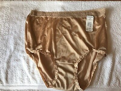 Vintage Maidenform Wise Buys Nylon and Lace Brief Panties 8 X Large NWT
