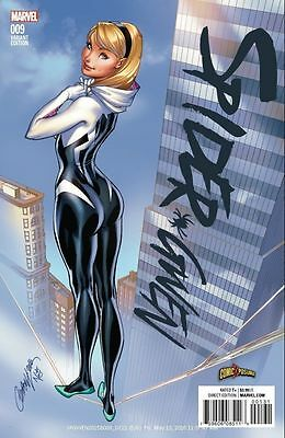 Spider-Gwen #9 Exclusive J Scott Campbell Color Variant 1 ST Print Punisher NM
