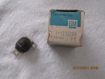Nos 1971-72-73 B Body Buicks Convertible Top Switch-Part Number 1235265