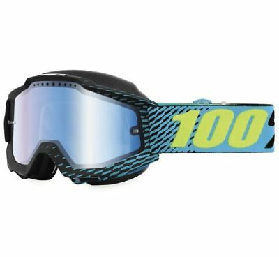 100% Accuri Snow Goggles - R-Core with Blue Lens