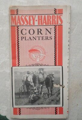 Rare Vintage Massey-Harris Corn Planter Brochure