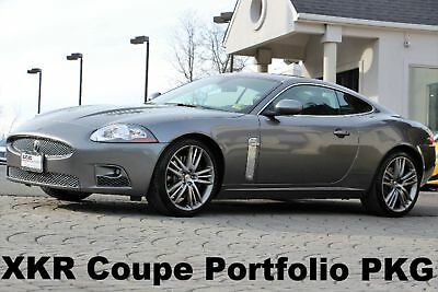 "2009 Jaguar XK R Coupe Portfolio PKG 2009 XKR Coupe Portfolio PKG Shadow Gray 20"" Wheels Auto Navigation 420HP"