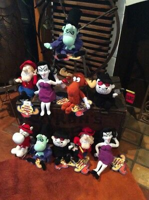 Rocky and Bullwinkle Family 10 lot Stuffins Plush Toys CVS Most Dolls with Tags