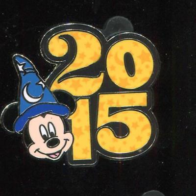 Parks 2015 Dated Booster Set Sorcerer Mickey Disney Pin 107585