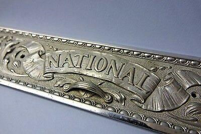 Heavy Metal National Till Drawer Front Cover - Replacement For Antique Till L@@k