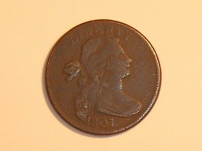1807 large cent Draped Bust