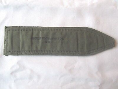 Original Ww2 1945 Usgi M1 Garand Bar Rifle Olive Drab Rifle Sling Pad - Nos