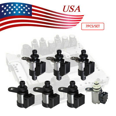 7PCS TRANSMISSION SOLENOID For RE5R05A Nissan Infiniti