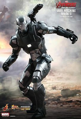 AVENGERS Age of Ultron: War Machine Mark 2 1/6th Scale Action Figure (Hot Toys)