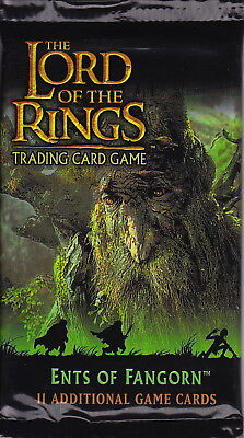 LORD OF THE RINGS TCG - Ents of Fangorn Booster Packs (22) by Decipher #NEW