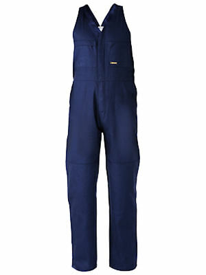 Bisley Workwear BAB0007 Navy Cotton Action Back Overall Size 117R New