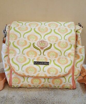 PETUNIA PICKLE BOTTOM Embossed Boxy Backpack Diaper Bag with Changing Pad $189