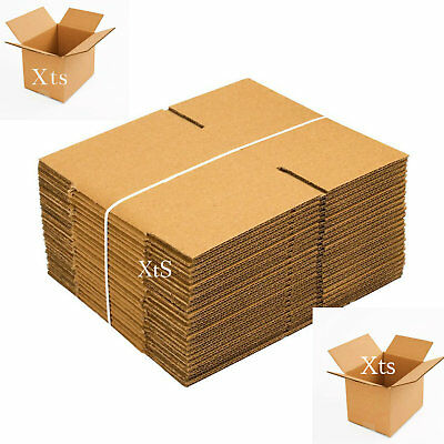 57fe074209c 25 Pack Shipping Boxes 8x6x6 Mailing Moving Box Cardboard Storage Packing  Supply