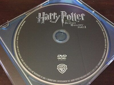 HARRY POTTER DEATHLY HALLOWS 2 2011 ( DVD DISC ONLY ) No BluRay or Digital Code