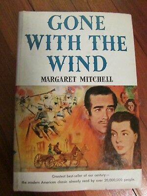 GONE WITH THE WIND,  MARGARET MITCHELL, 1964 BCE, free shipping