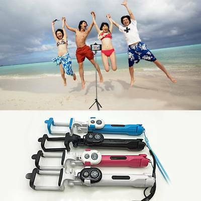 Remote Control Selfie Stick Bluetooth Monopod With Foldable Tripod Stand