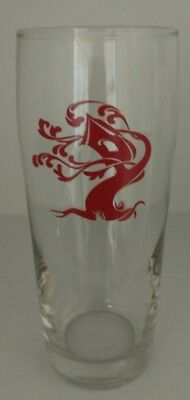 """Tree House Brewing 6.5"""" Pint Glass Rare Red Logo Sap Sold OUT!"""