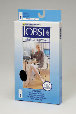 Jobst Medical Black X-Large XL 15-20 mmHg Knee High Compression Stockings 115203