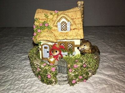 Wee Forest Folk M-172 Red Riding Hood at Grandmother's House *Signed* 1991