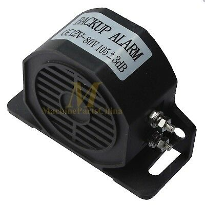 DC 12-80V Car Truck Parking Alarm Back Up Rear Reversing Warning Siren Horn 105