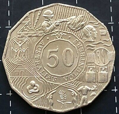 2003 Australian 50 Cent Coin - Australia'S Volunteers