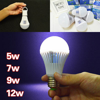 Energy Saving Emergency Rechargeable Lamp light Household Outdoor LED Bulb 5-12W