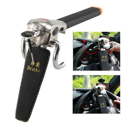 Car Steering Wheel Foldable Anti Theft Security Airbag Lock Safe Devices and Key