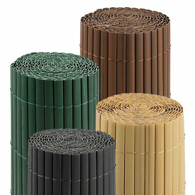 Bamboo PVC Mat Screen Border Panel Fence Garden Privacy Sizes/Colours PREMIUM