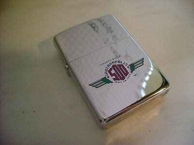 Zippo Lighter Indianapolis Chrome Polished 250 Cli New Year 1995