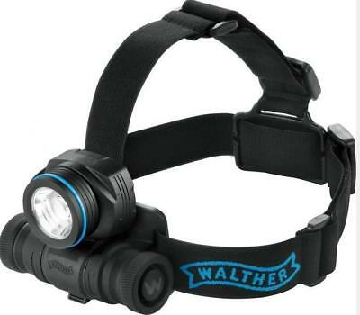 WALTHER PRO HL31R Stirnlampe mit Ladegerät Led, Torch
