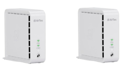 Telekom Airties 4920 Wifi Starter Kit MESH-WiFi Smart Home Weiß BRANDNEU