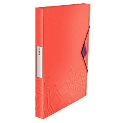 Ablagebox Urban Chic, A4, PP, rot (Leitz; #Heftbox# 39990024)