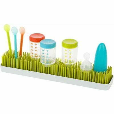 Boon PATCH Design Countertop Baby Accessory Bottle Sink Drying Rack Tray Green