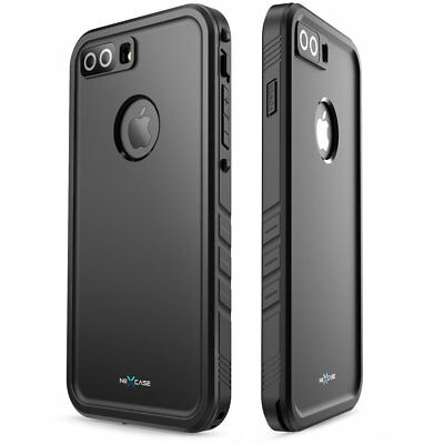 new style f918c edda6 IPHONE 8 / 8 + PLUS Case: NexCase Waterproof Full Cover Integrated Protector