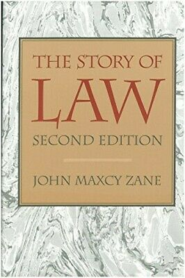 The Story of Law - New Book Zane, John M.