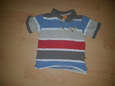 Steiff Polo T Shirt Top Gestreift 74