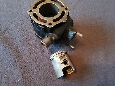 Aprilia Sr 50 Lc 2002 Suzuki Engine Barrel Cylinder And Piston Standard Aprilia