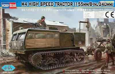 1:35 M4 High Speed TRACTOR (155mm/8-in./240mm), HobbyBoss 82408 in OVP ;-)