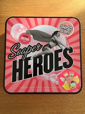 Soaper Heroes Soap And Glory Special Edition 6 Piece Tin Gift Set