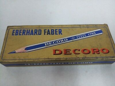 Vintage Antique Rare Old Collectible Eberhard Faber pencil with box