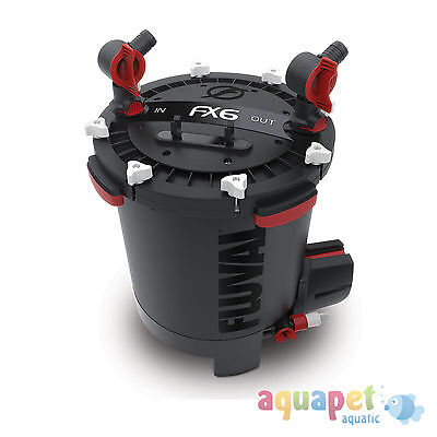 Fluval FX6 External Filter + FREE Fluval FX Gravel Vac worth £49.99