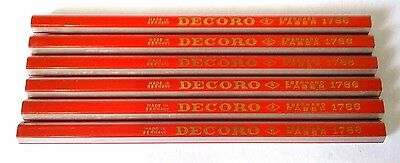Vintage Antique Rare Old Pencils collection Decoro Eberhard Faber Germany