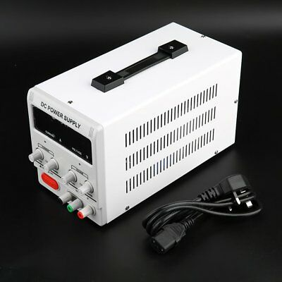 Dual Digital Variable Precision Lab Grade DC Power Supply Adjustable 5A 30V UK
