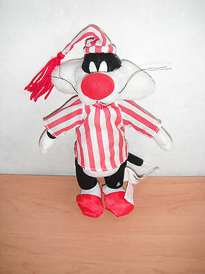 Looney Tunes Kater Sylvester Silvester Schlafzeug 30 cm Play by Play Stofftier