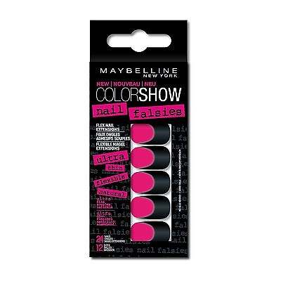 X 2 Maybelline Color Show Faux Ongles Adhesifs Souples X 24  N°6