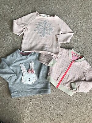 H&M Baby Girl Lot Of 3 Sweaters Size 1.5-2Y