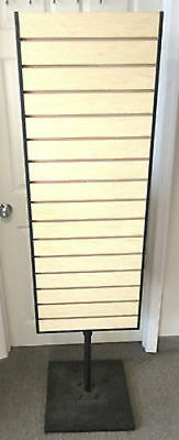 "Store Display Rotating 65"" Slat Wall Rack Retail Fixture"