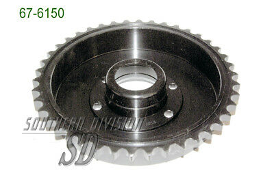 BSA 67-6150 42 teeth rear brake drum sprocket plunger A10 Trommel mit zahnkranz