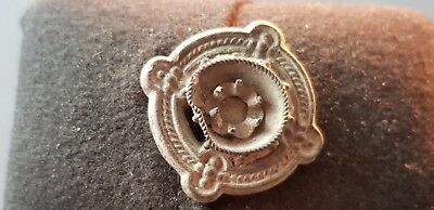 Lovely old Yorkshire/Lancs rose brooch found in England uncleaned con. L77i